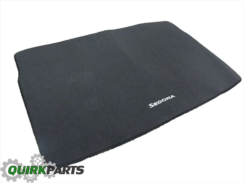 2015 Kia Sedona Custom Carpet Cargo Area Mat Genuine OEM NEW