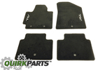 2014 Kia Soul Black Carpet Floor Mats OEM BRAND NEW Genuine Part # B2F14-AC000