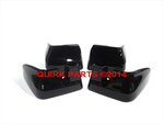 2008-2011 Subaru Impreza 4-D Splash Guard Mud Flap Set Obsidian Black OEM NEW