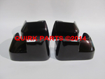 2012-2014 Subaru Impreza 4-D Splash Guard Mud Flap Set Deep Cherry Pearl OEM NEW