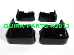 2012-2014 Subaru Impreza 4-D Splash Guard Mud Flap Crystal Black Silica OEM NEW