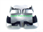 2012-2013 Subaru Impreza 5 Door Ice Silver Set of 4 Mud Guards OEM NEW Genuine
