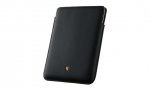 iPad Case, Black w/ Red Stitching