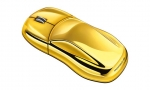 Computer Mouse Gold-Coloured
