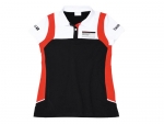 Motor Sports Collection, Polo-Shirt, Women, black/white/red