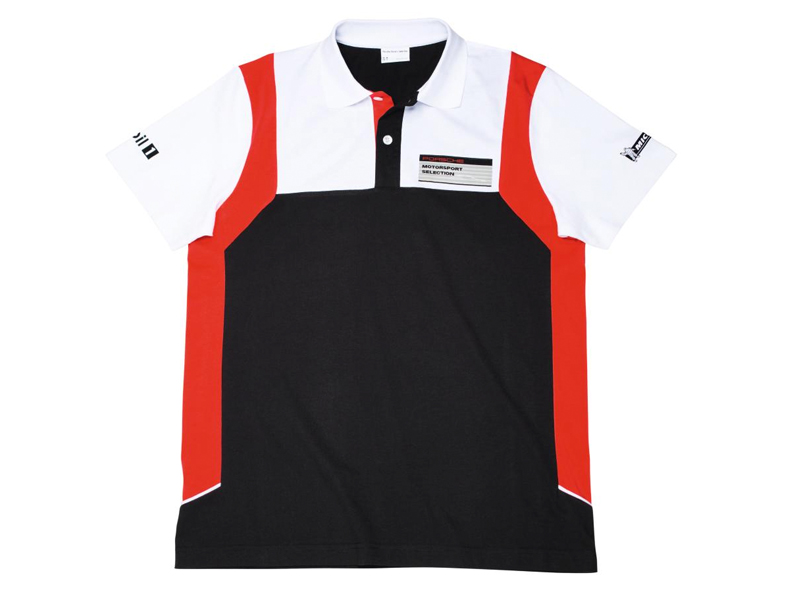 Motor Sports Collection, Polo-Shirt, Men, black/white/red