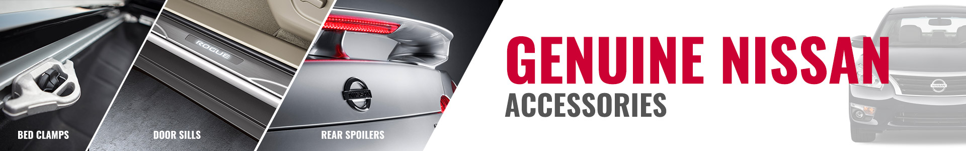 Genuine Nissan accessories