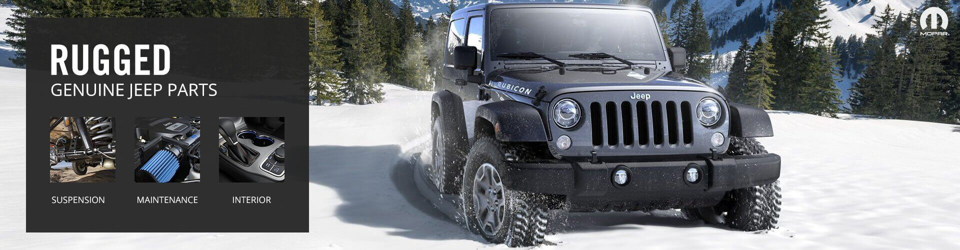 Genuine Jeep Parts & Accessories