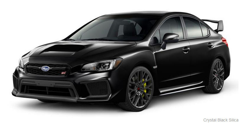 Molding Body Side, Crystal Black Silica [WRX or STI]