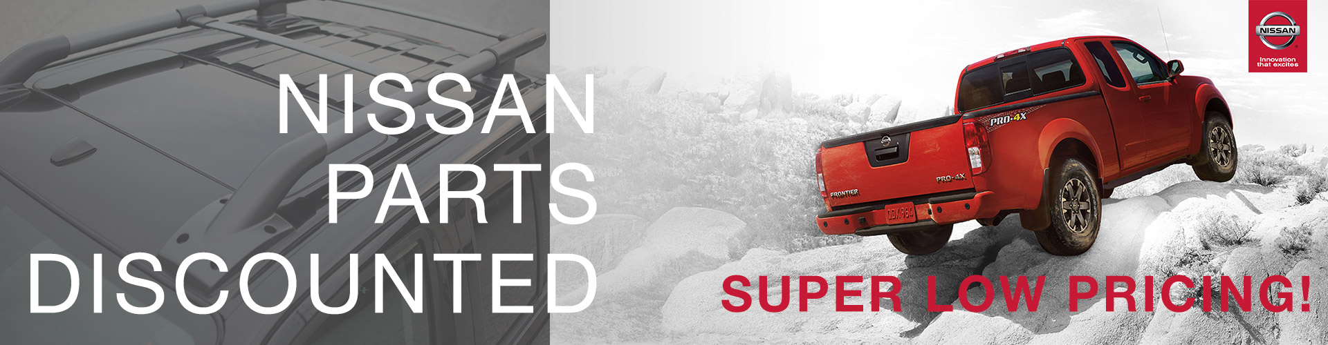Nissan Parts Discounted - Super Low Pricing!