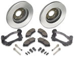Chevy High Performance Front Brake Upgrade Kit