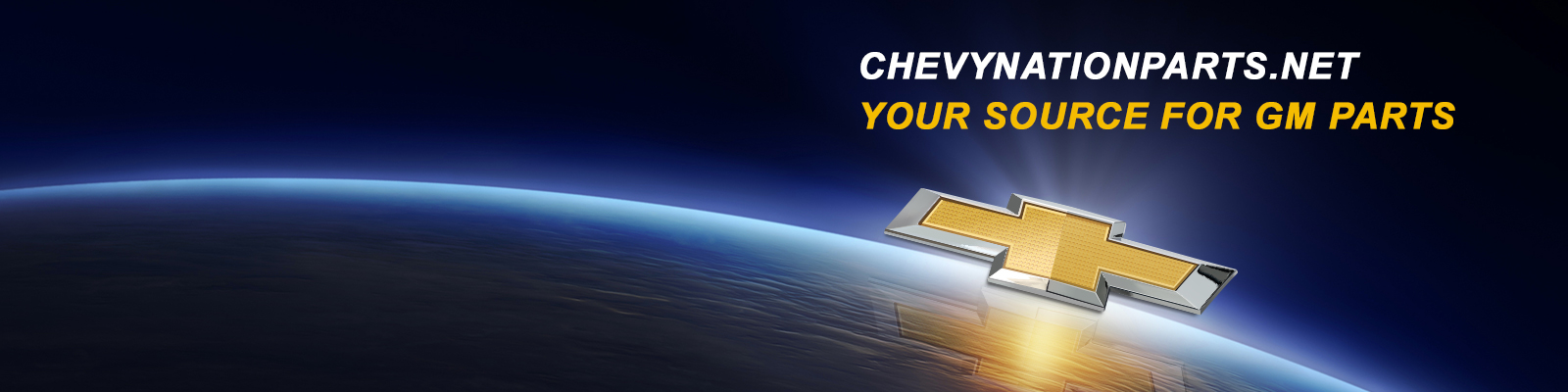Chevy Nation Parts Banner 1