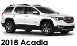 Shop 2018 GMC Acadia Accessories