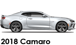 Shop 2018 Chevrolet Camaro Accessories