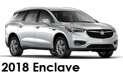 2018 Buick Enclave Accessories