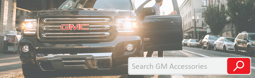 Search GM Accessories Catalog
