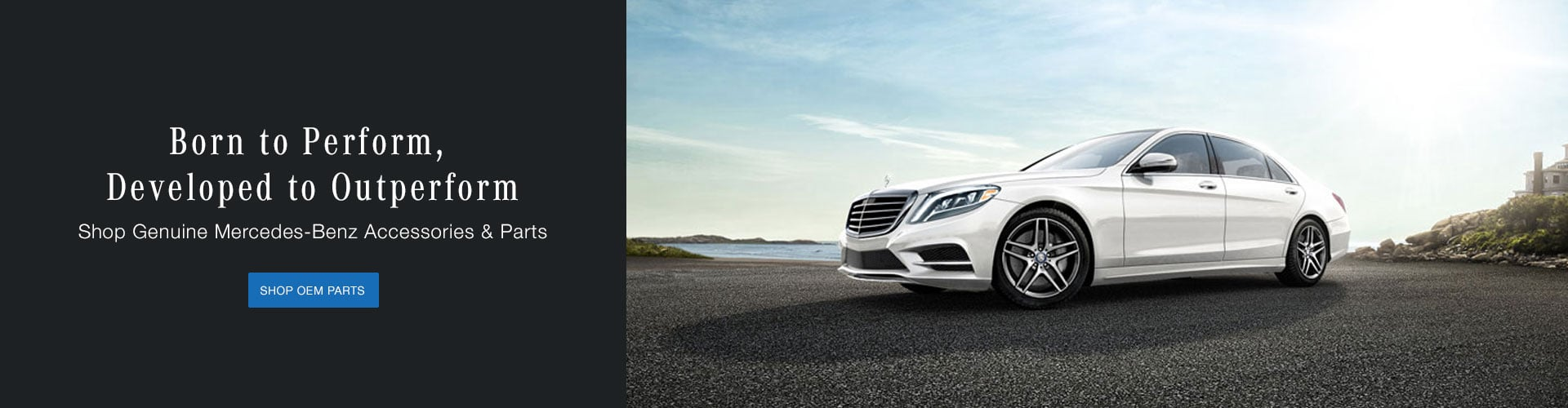 Genuine Mercedes-Benz Parts and Accessories