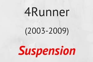 4Runner (2003-2009) Suspension