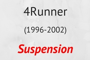 4Runner (1996-2002) Suspension