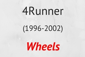 4Runner (1996-2002) Wheels