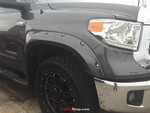 Fender Flares, Painted Pocket Style - Tundra (2014-Current)