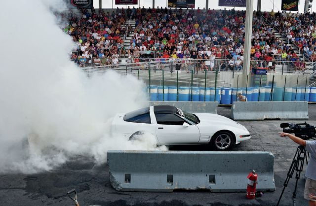 Corvette burnout 13
