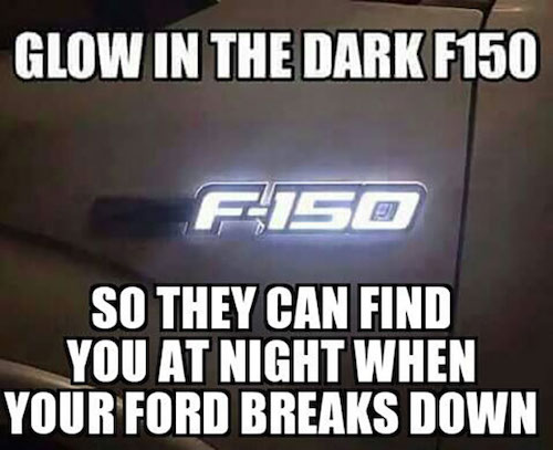 F150 light meme