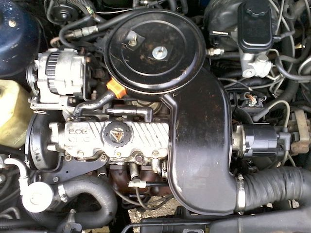 Pontiac engine