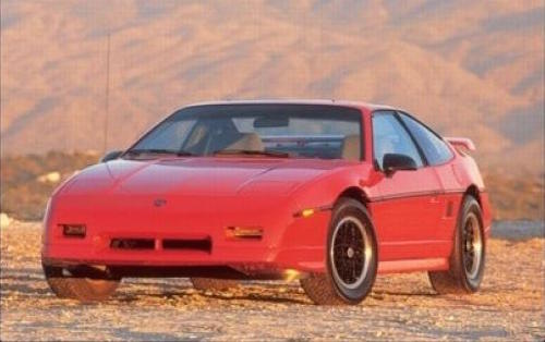 The Pontiac Fiero Was A Lightweight, 2 Seat, Mid Engine Sports Car  Manufactured Between 1984 And 1988. Fiero Is Italian For Proud, And It Made  Pontiac Proud ...