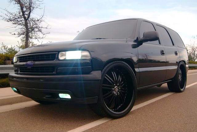 Triple black Tahoe