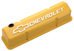 Collector's Series Yellow Aluminum Slant-Edge Valve Covers
