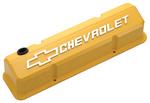 Collector's Series Yellow Aluminum Slant-Edge Valve Covers