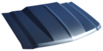 2014-2015 Silverado 1500 Cowl hood (Aluminum)