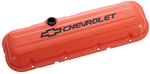 Chevy orange BB valve covers (Short)