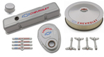 Metallic Gray Deluxe Dress-up Kit for Chevy small-block engines