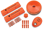 Chevy® Orange Deluxe Dress-up Kit for Chevy small-block engines