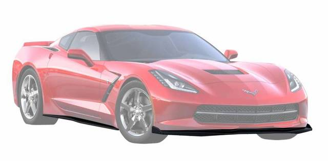C7 CORVETTE GROUND EFFECTS PACKAGE, EXPOSED CARBON FIBER