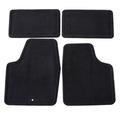 Mat Pkg,Front & Rear Carpet (15.286/16.8 Ebony