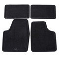 Mat Pkg,Front & Rear Carpet (15.286/16.8 Ebony
