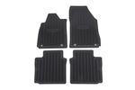 Mat Pkg,Front & Rear Premium (All Weathe Black