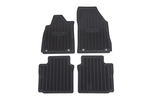 Mat Pkg,Front & Rear Premium (All Weathe Black