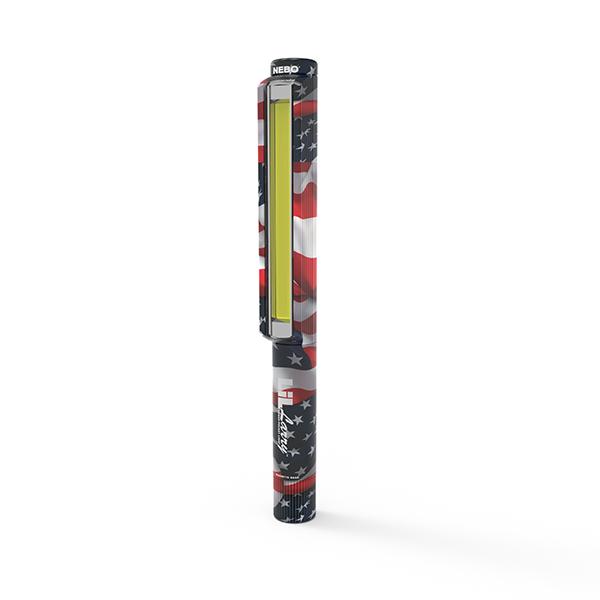 NEBO LiL Larry™ 250 lumen C•O•B work light (Patriotic)