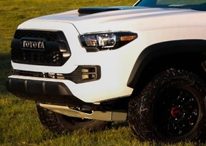 Grille Assembly 2017 Tacoma TRD Pro White 040
