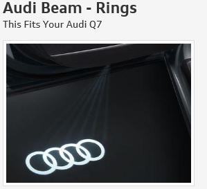 Audi Beam - Rings