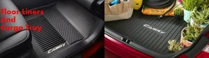 2015+ Camry All-Weather Floor and Trunk Mats Set