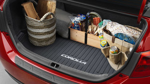 2014 -2019 Black Corolla Cargo Tray