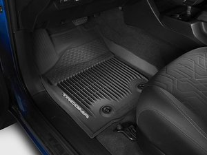 Tacoma All Weather Tub Style Floor Mats (Crew Cab)