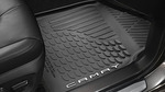2018 -2019 Camry Hybrid All-Weather Floor Liners, Black With Logo - 4 Piece Set
