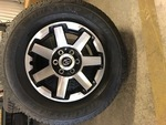 2017 - 2018 4RUNNER (SET OF 4) WHEELS AND TIRES