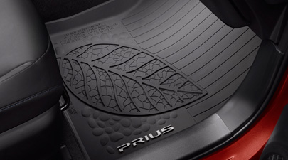 2016 -2018 Prius All Weather Floor Liner Mats Tub